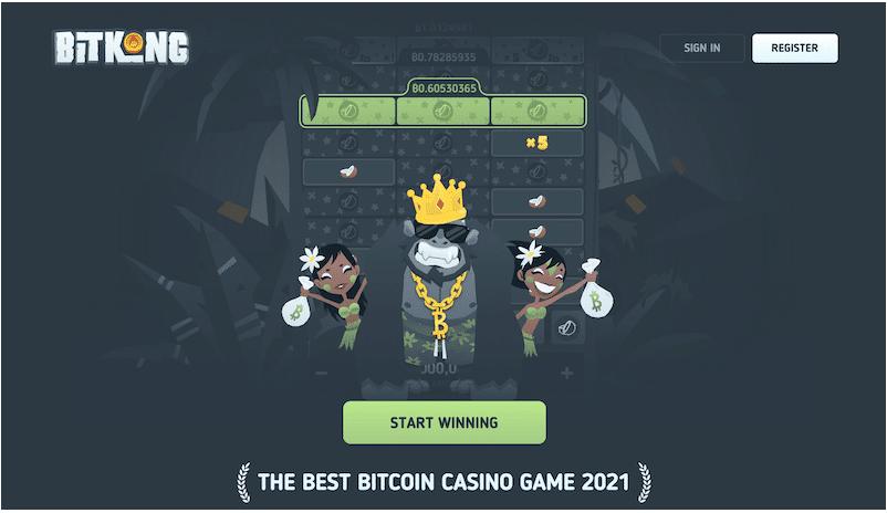 BitKong - أفضل كازينو بيتكوين لألعاب النرد