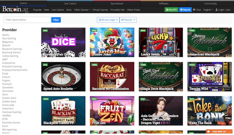 Betcoin - منصة Bitcoin Casino